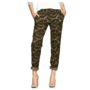 Gap | camouflage khakis broken in straight fit